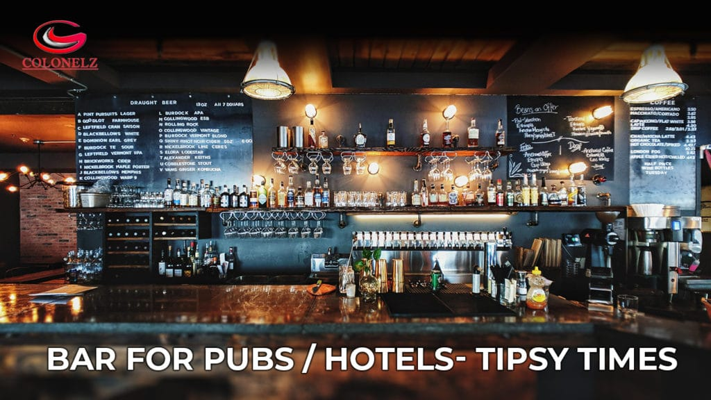 BAR for Pubs / Hotels- Tipsy Times