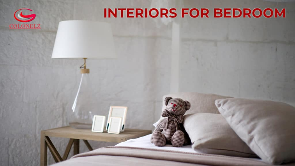 Interiors for Bedroom